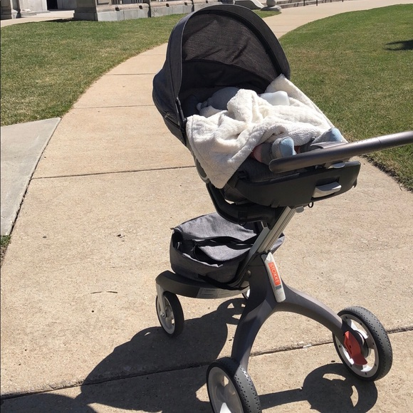Ongebruikt stokke Other | Grey Xplory With Carry Cot | Poshmark LB-76
